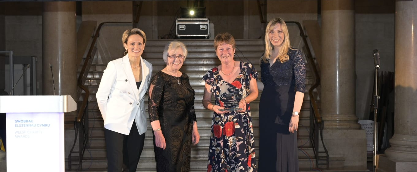 Neuro Therapy Centre wins Outstanding Trustees category at Inaugural Welsh Charity Awards