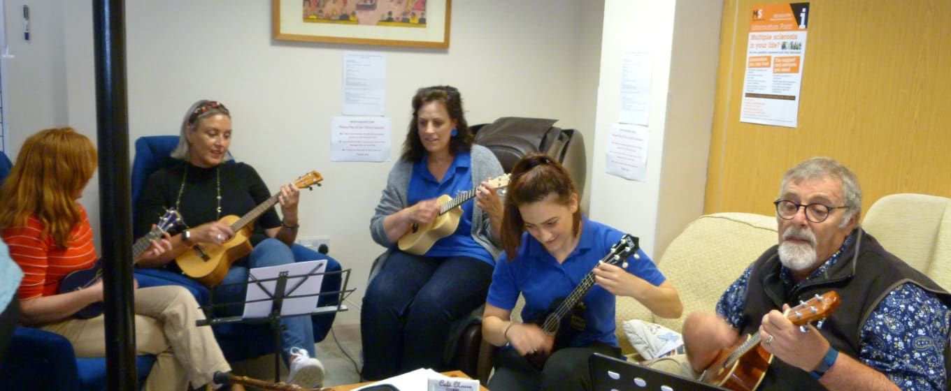 Neuro Therapy Centre Ukulele Band