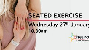 Seated exercise class